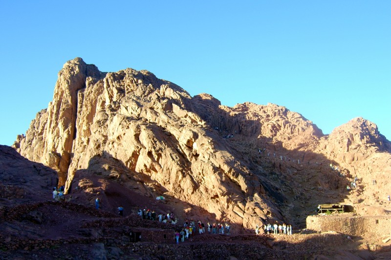 Hiking Trip Moses Mountain Sharm Vacations Excursions