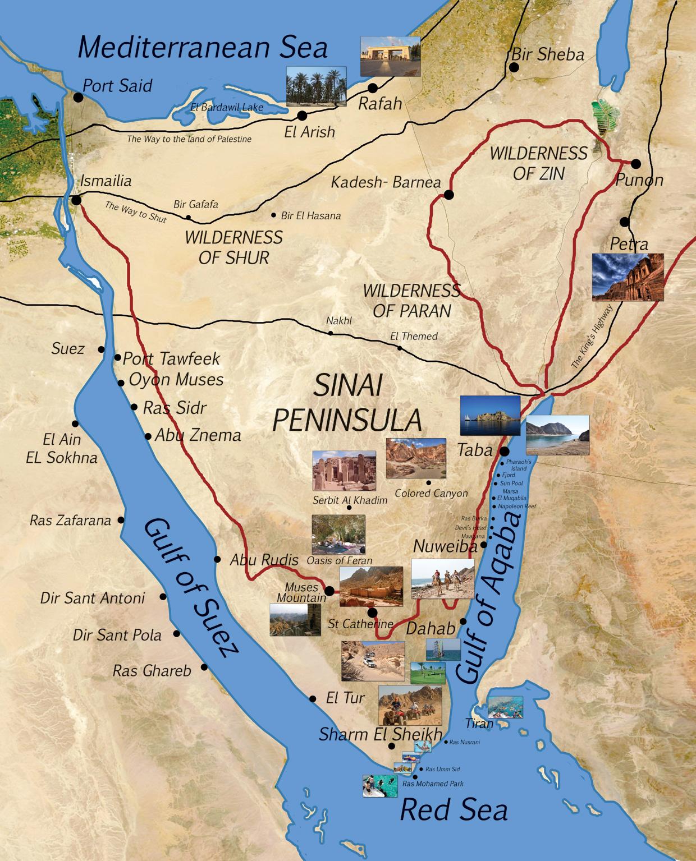Sharm el sheikh map