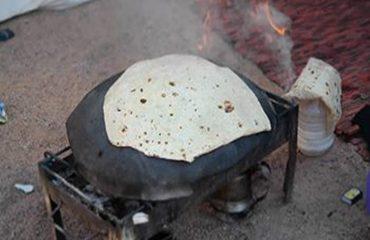 Bedouin bread made